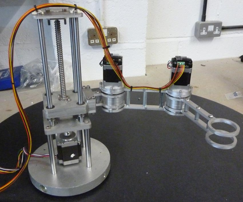 Prototype Scara Robot Arm