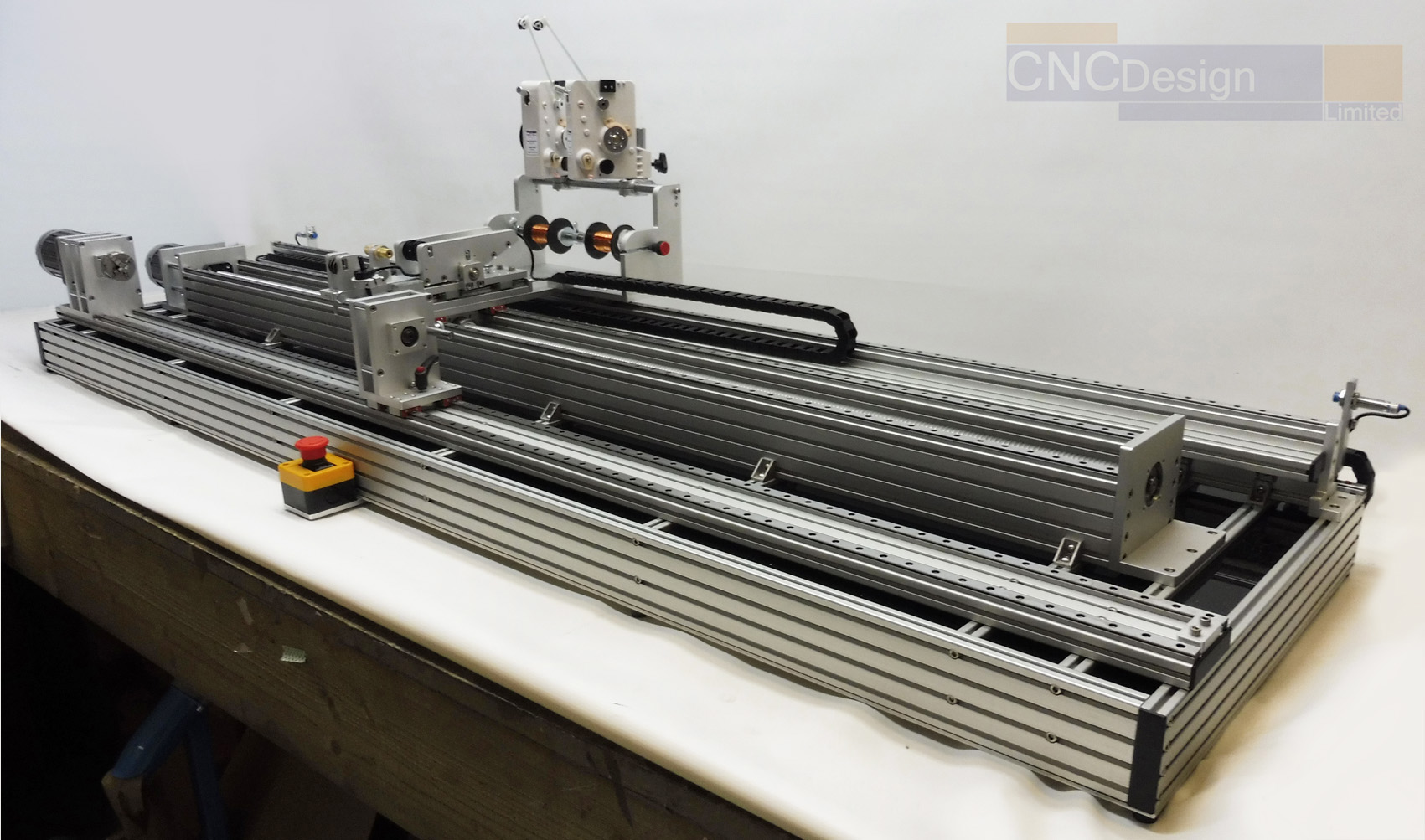 CNC 1600mm Dual Wire Feed Coil Winder