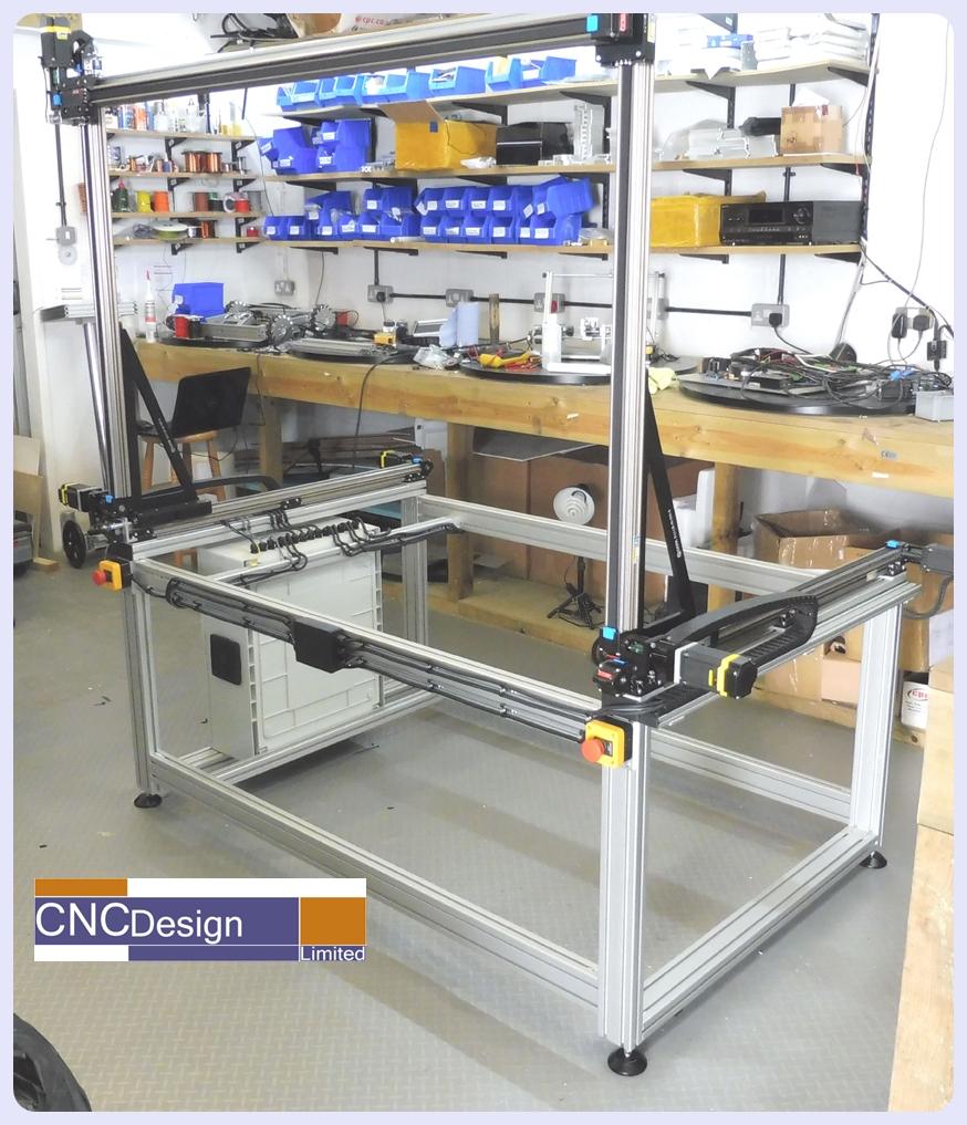 CNC Large XYZ Field Scanner machine