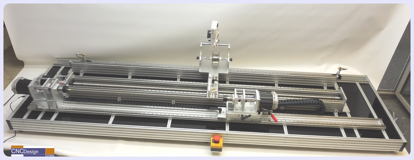 CNC 1600mm Coil Winder with Dual Bobbin Motors